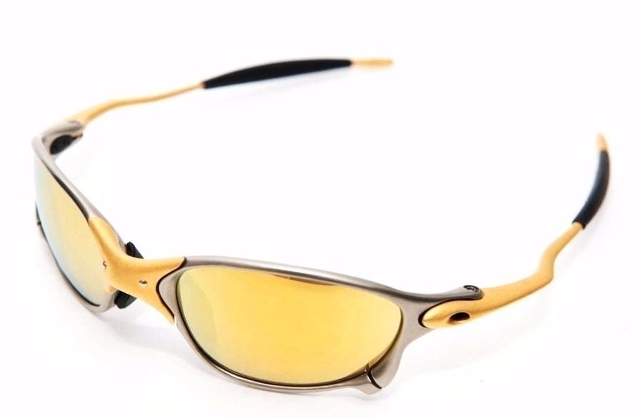 7eecbd5a0 Oculos Lupa Oakley Double X 24k X Metal Lente Gold Dourada - R$ 132 ...