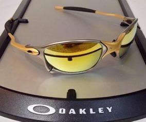 0946787f0 Juliet Dourado Com As Lentes Roxas - Óculos De Sol Oakley no Mercado Livre  Brasil