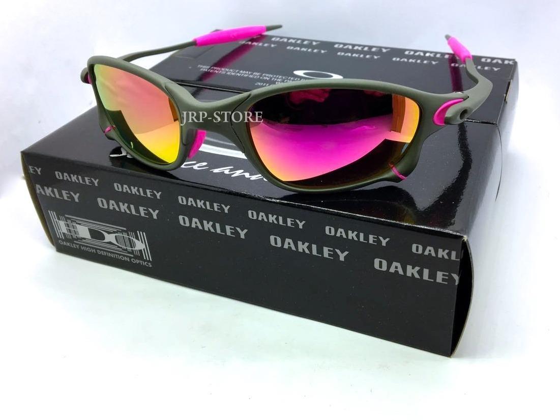 2a0681798 oculos lupa oakley double x 24k x metal lente gold dourada. Carregando zoom.