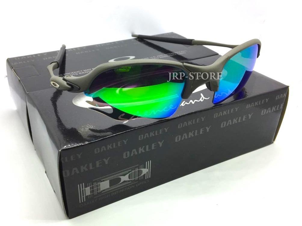 4f05c06186c8b Oculos Lupa Romeo 2 Flame Parriot X Metal Lentes Verde 26g - R  159 ...