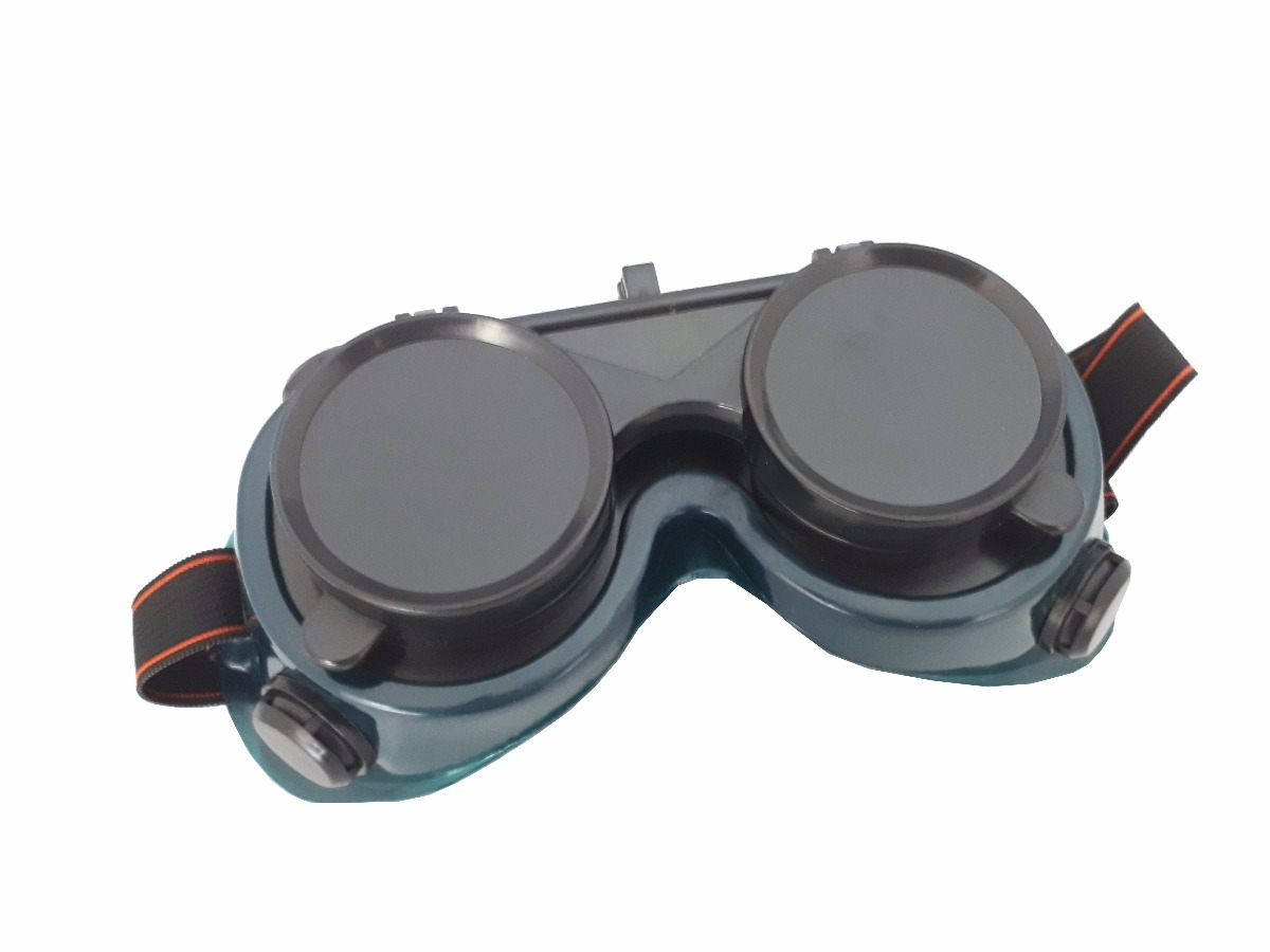 547bc875d6403 Óculos Maçariqueiro Com Viseira Articulada - R  28,00 em Mercado Livre