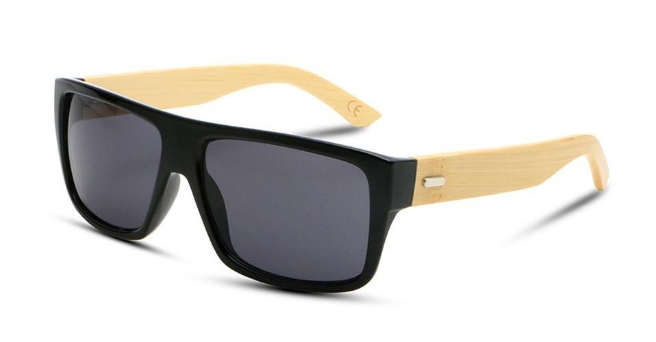 5830e68bf Óculos Madeira Masculino Polarizado Uv400 + Brinde Case - R$ 49,99 ...