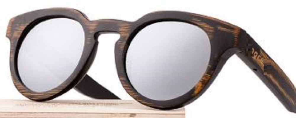 bad4a6b94 Óculos Madeira Redondo Bambu Polarizado Masculino Fem+ Caixa - R ...