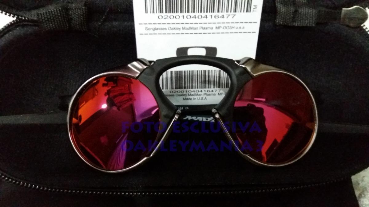 a18600d817 Oculos Madman Black Grafite Lente Dark Ruby Polarized + Case - R ...