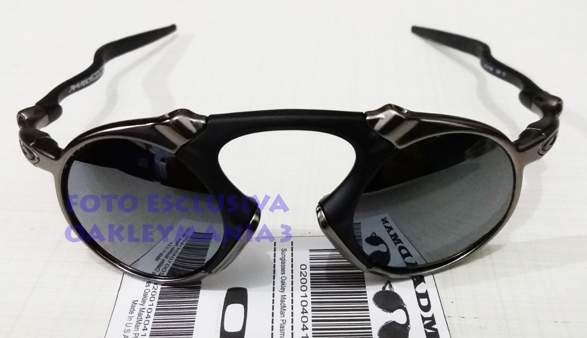 oculos madman black grafite lente liquidmetal polarized+case. Carregando  zoom. 0d85dd6555