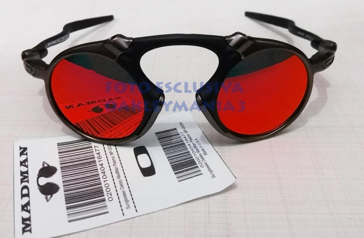 oculos madman black grafite lente red fire polarized+case. Carregando zoom. 68f07ca675