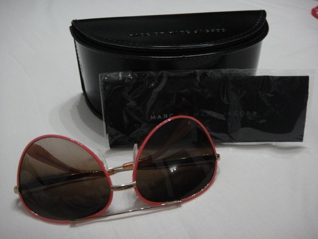 f0611ca269836 óculos aviador rosê marc jacobs - original- super feminino · óculos marc  jacobs