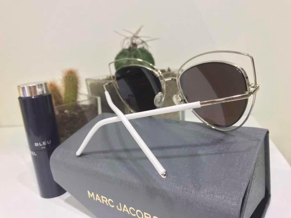 Óculos Marc Jacobs 8 Azul Espelhado - R  120,00 em Mercado Livre 7be06f8c28