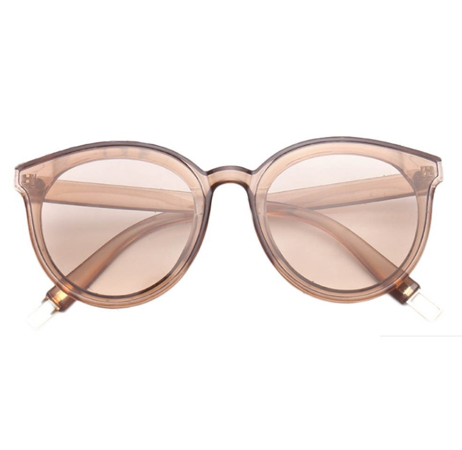 9248bc5853ff7 Óculos Marrom De Sol Lente Colorida Transparente - R  47,00 em ...