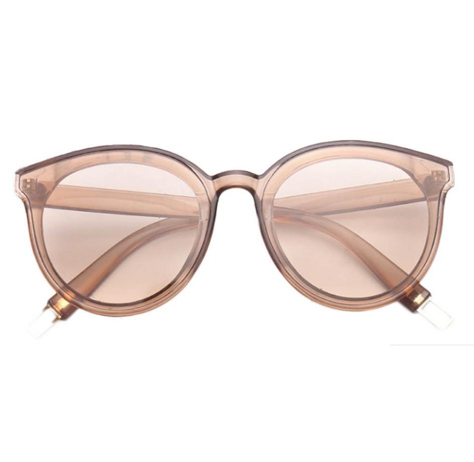 a1badbe6ed43b óculos marrom de sol lente colorida transparente. Carregando zoom.