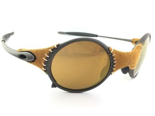 Oculos Mars Oakley Letaher Gold Couro Jordan 12x Boleto Top - R ... 06dc85f649