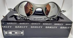4c3b8412d Oakley Penny X Metal Polished Com Lentes Black Iridium - Óculos no ...