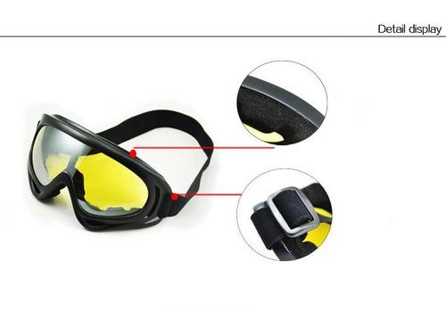 e5e72ef2c32d5 Óculos Mascara Googles X400 Tatico Airsoft Paintball Army X - R  35 ...