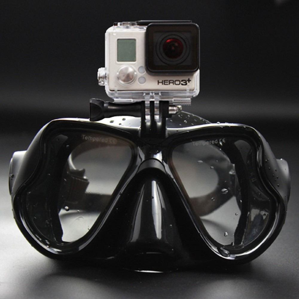 efa4e388a0aec Óculos Mascara Mergulho P  Câmera Go Pro Gopro Anti Embaço - R  129 ...