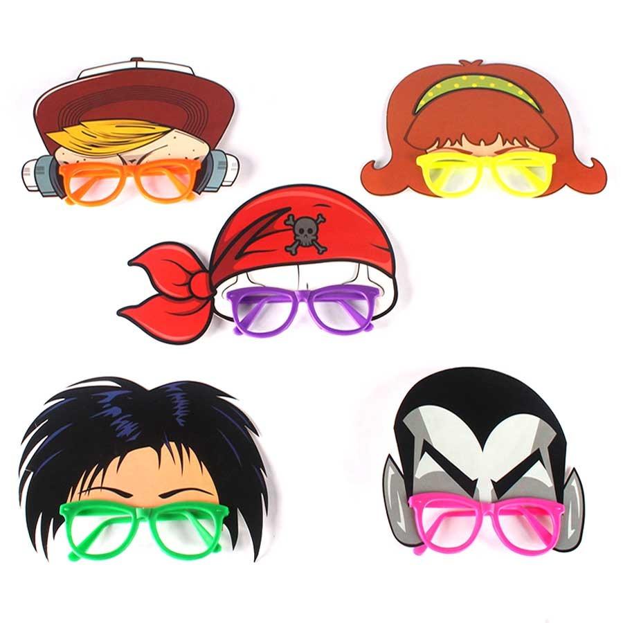 0ba3d0733 Óculos Máscara Vampiro, Bandana Pirata E Outros - R$ 26,23 em ...