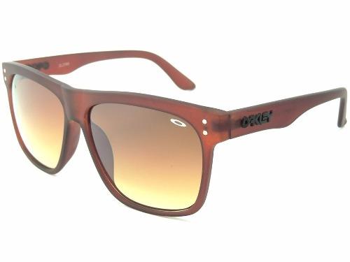 8ba6c04f78a17 Óculos Masculino De Sol Oakley Frogskins Marrom Frete Grátis - R  69 ...