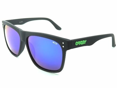 b414b3c496edd Óculos Masculino De Sol Oakley Frogskins Verde Frete Grátis - R  69 ...