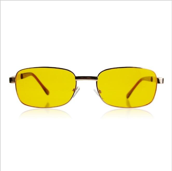 Óculos Masculino Dirigir Noite Anti Reflexo Lentes Amarelo - R  39 ... 93db03962b