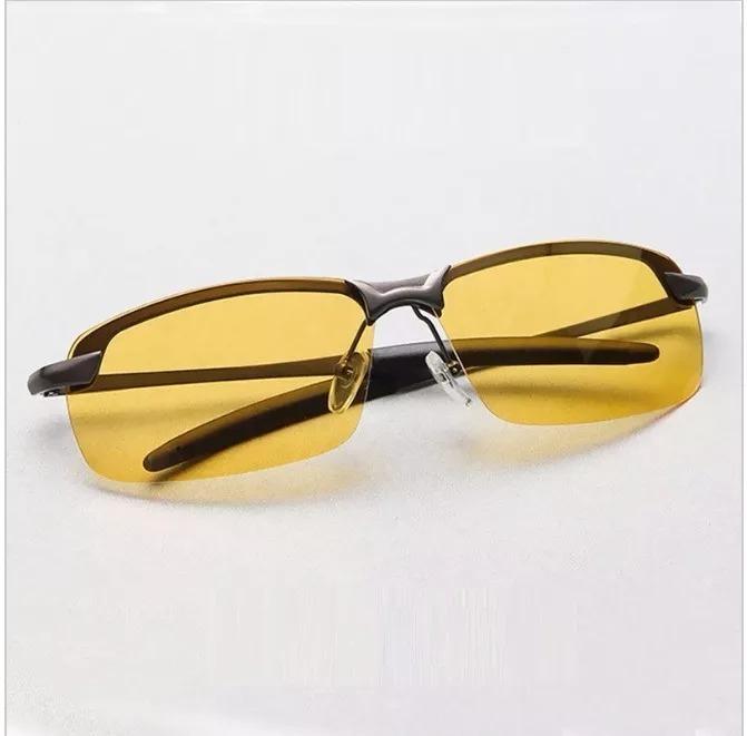 Óculos Masculino Dirigir À Noite Polarizado Proteção Uv 400 - R  69 ... ef00a94387