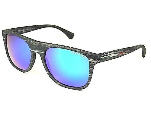 Óculos Masculino Emporio Armani Madeirado Ae7 Azul Espelhado - R  49 ... 708f63ab8d