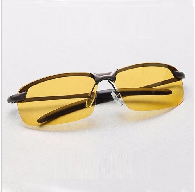 e32c8ba31e7b0 Óculos Masculino Feminino Dirigir À Noite Lentes Polarizadas - R ...