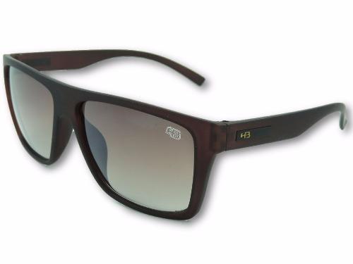 af669f2dabb40 Óculos Masculino Hb Floyd Matte Marrom Proteção Uv400 - R  49,99 em ...