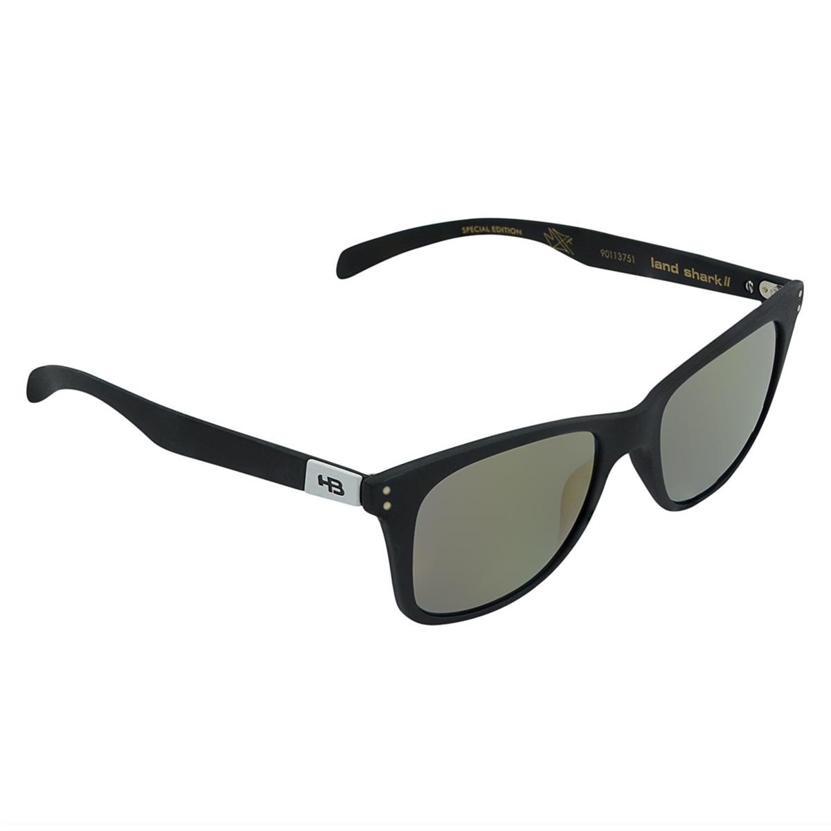 Óculos Masculino Hb Landshark Ii Preto Fosco - R  399,90 em Mercado ... 39d7ce7d66
