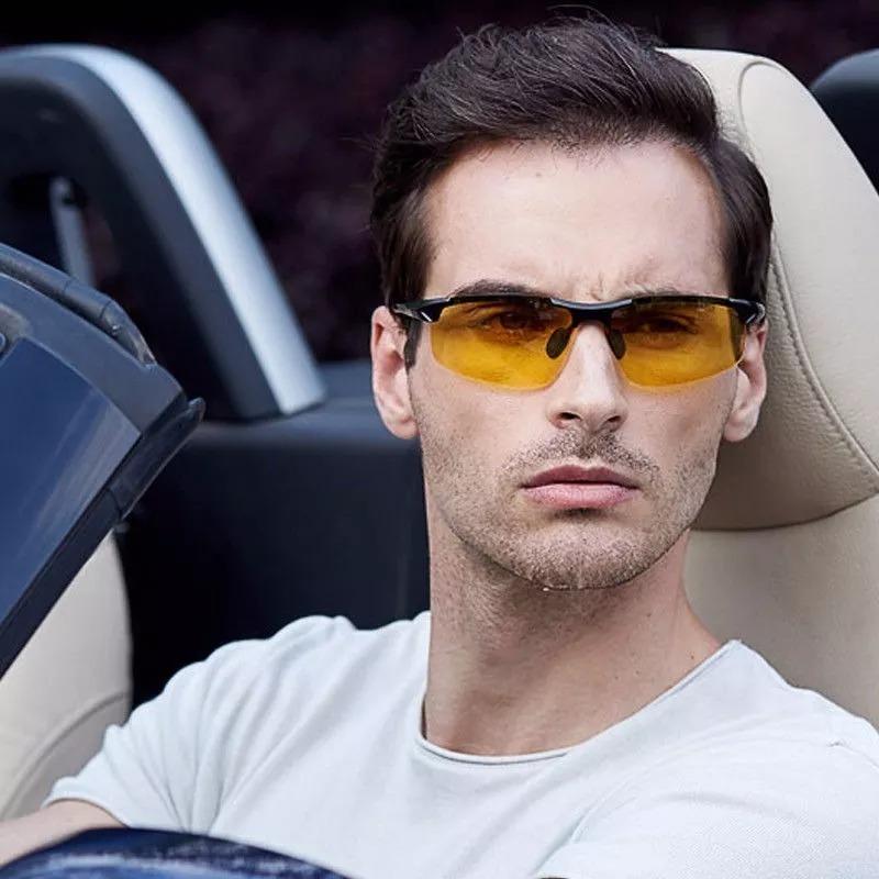 d504bbfceff77 oculos masculino lente amarela dirigir a noite polarizada. Carregando zoom.