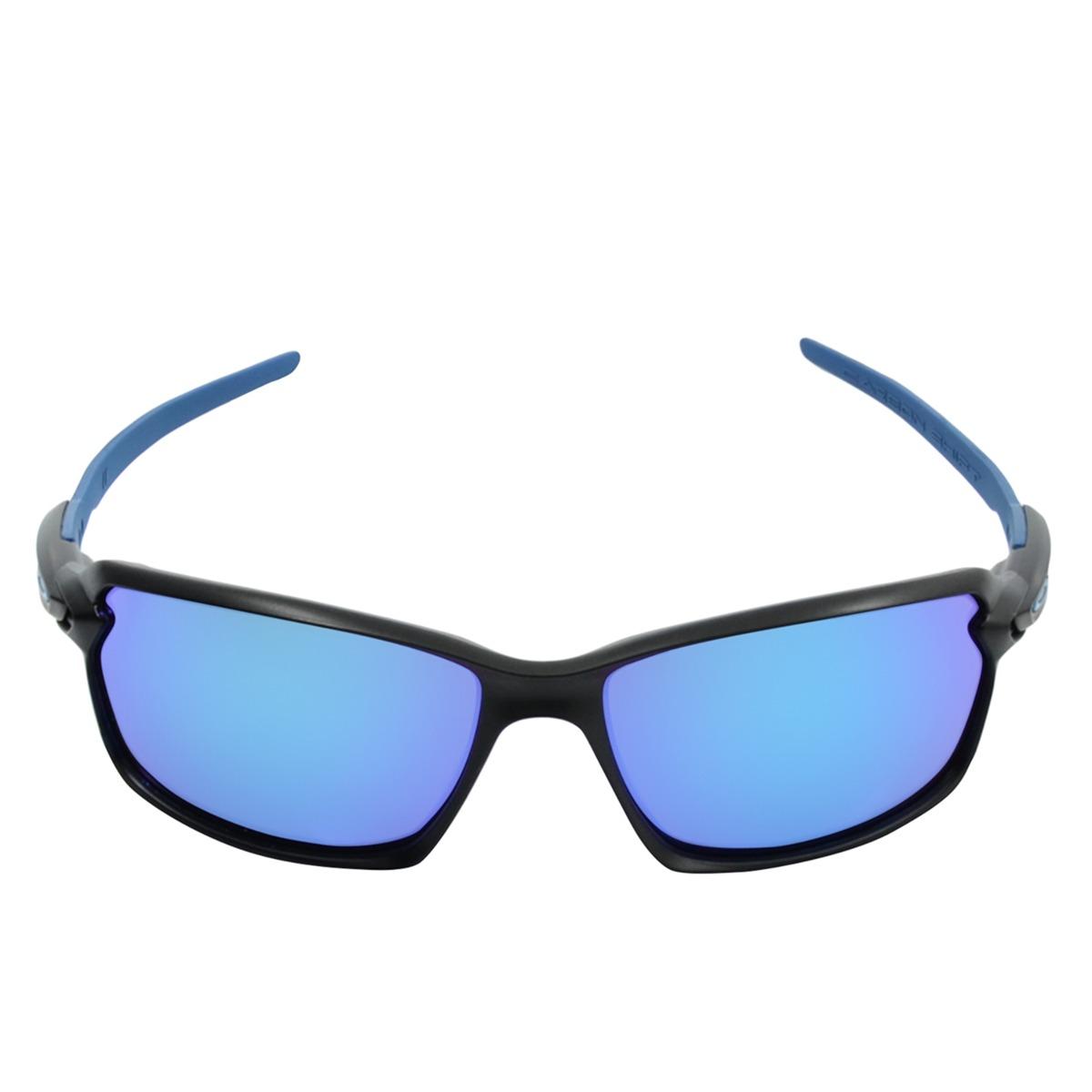 óculos masculino oakley carbon shift matte black sapphire. Carregando zoom. 4885060aec
