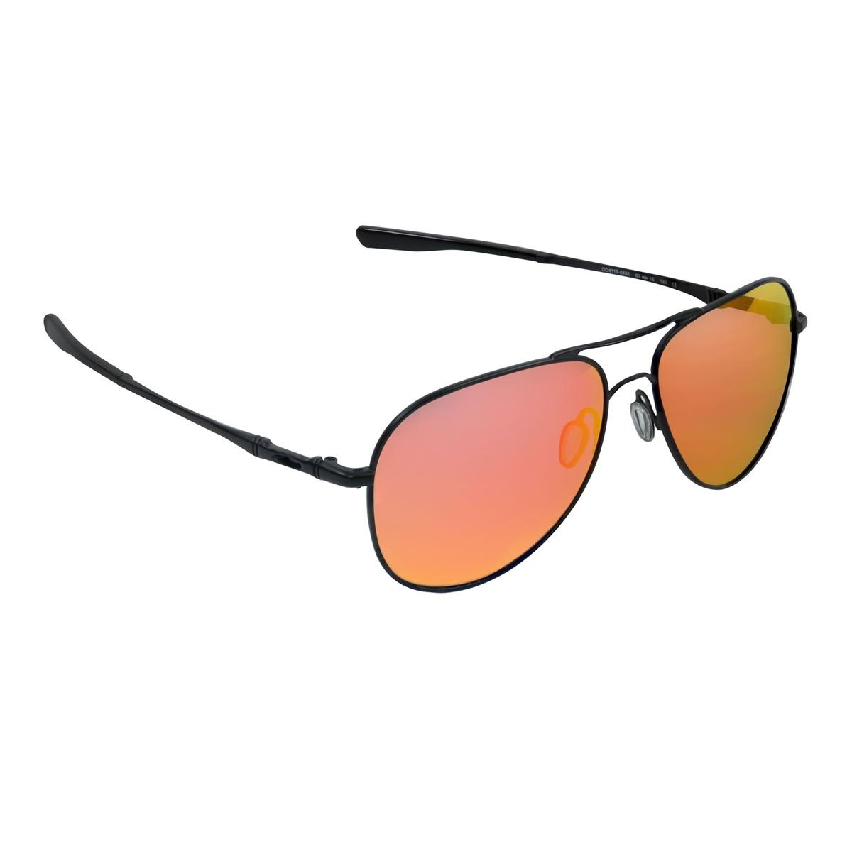 09e95a8a7816f óculos masculino oakley elmont l satin black ruby iridium. Carregando zoom.