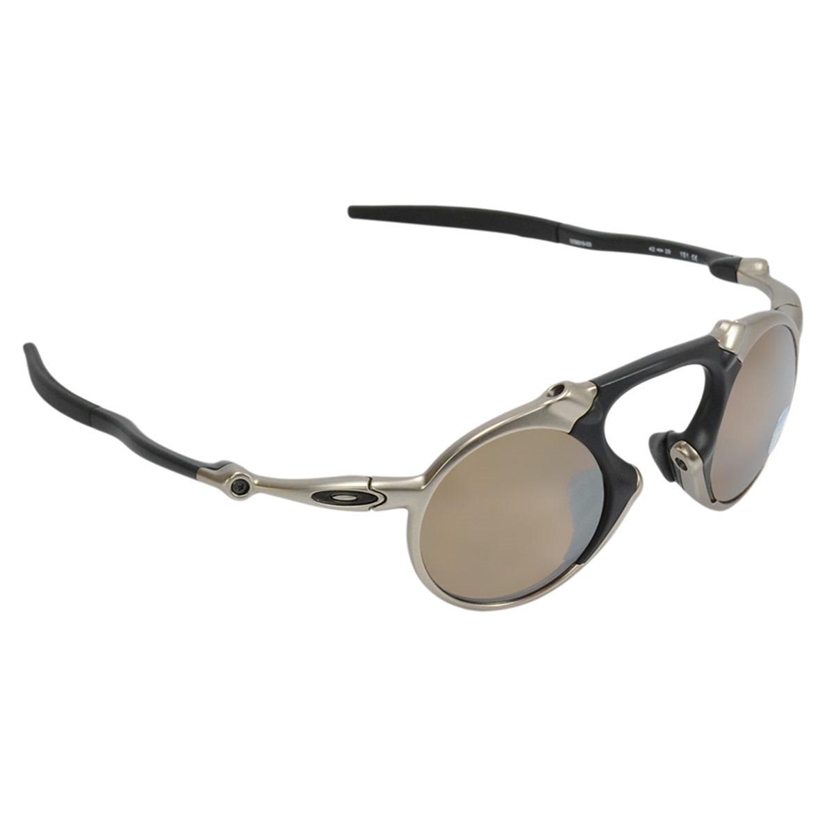 óculos masculino oakley madman plasma tungsten polarized. Carregando zoom. dd2799c1a9