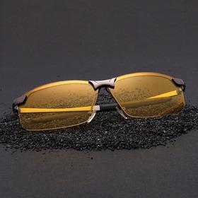 Óculos Masculino P/ Dirigir À Noite  Uv 400 Novo Com Estojo
