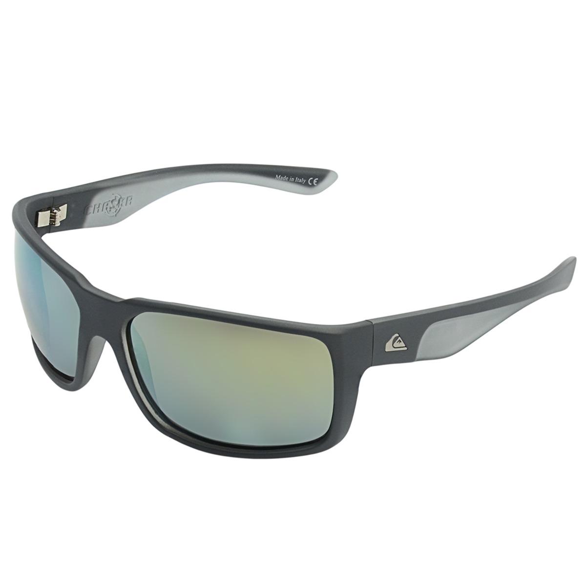 7d5c578f66f87 Óculos Masculino Quiksilver Chaser Matte Grey - R  480,00 em Mercado ...