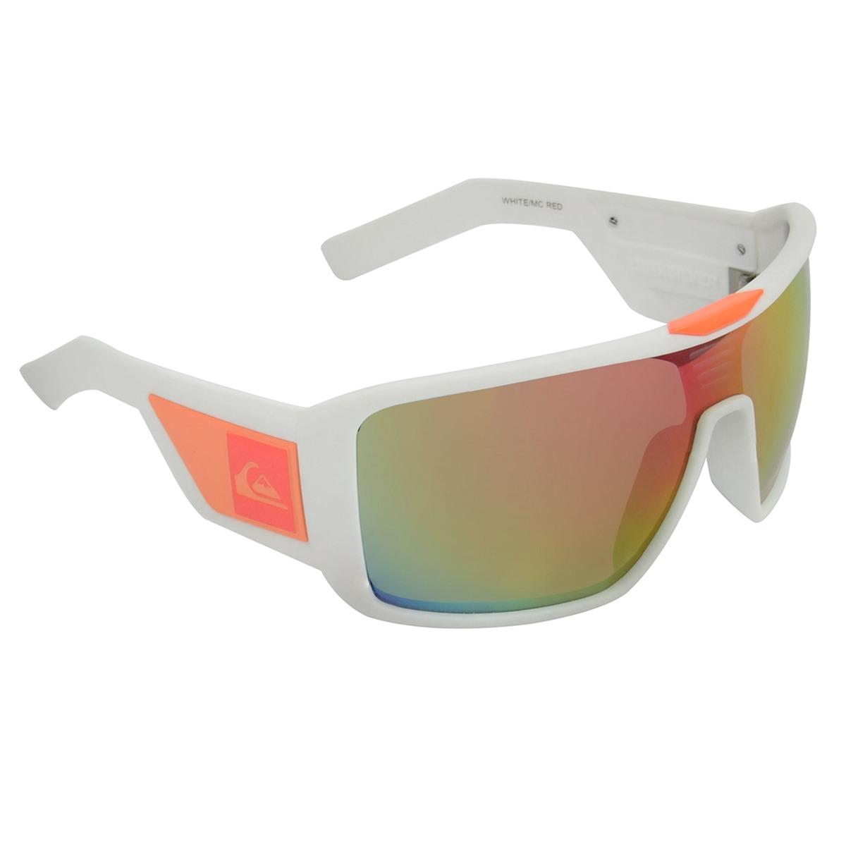 170ad3a41bd0b óculos masculino quiksilver mackin white red. Carregando zoom.