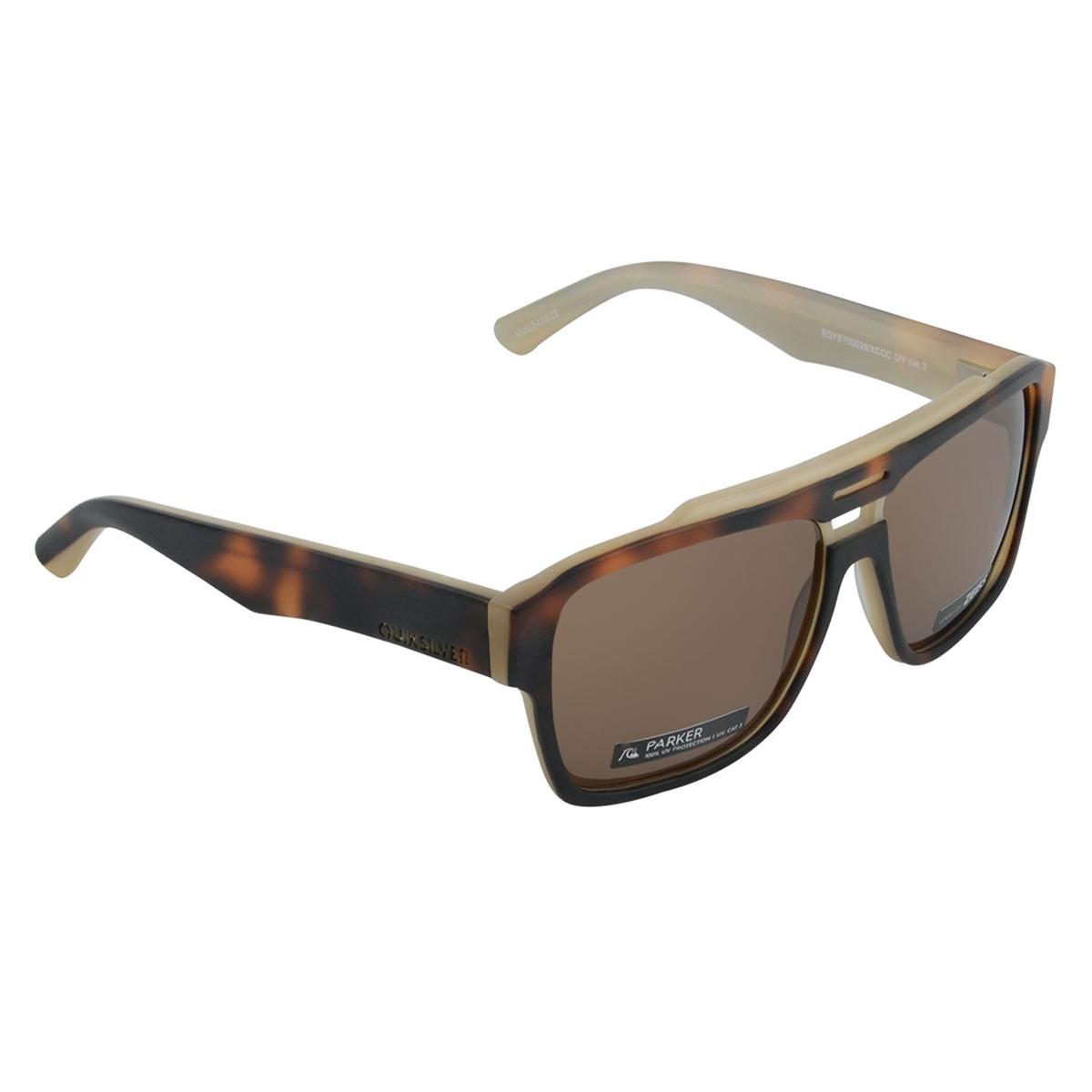 5b41405e52a1 óculos masculino quiksilver parker marrom. Carregando zoom.