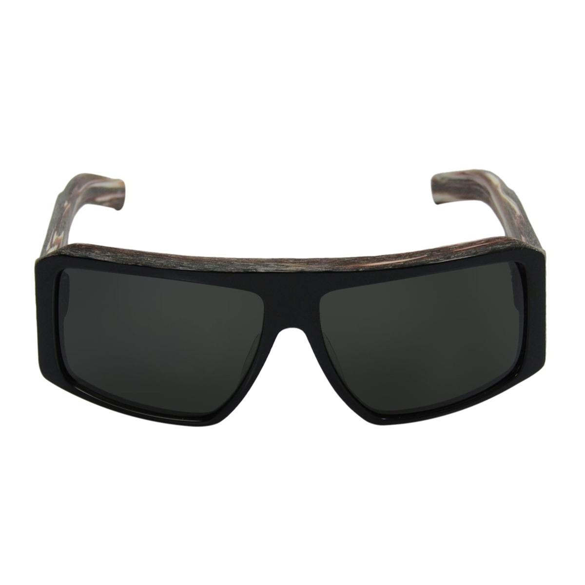 Óculos Masculino Quiksilver The Empire Black Horn - R  169,00 em ... d7f87e9545