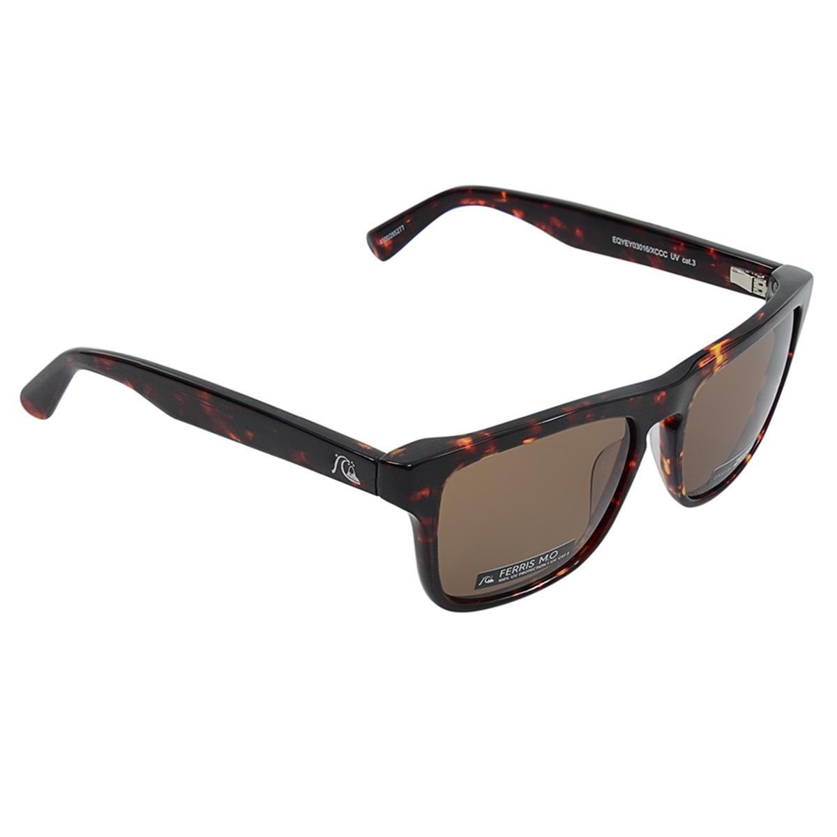 Óculos Masculino Quiksilver The Ferris M.o Marrom - R  690,00 em ... ec0a1e8862