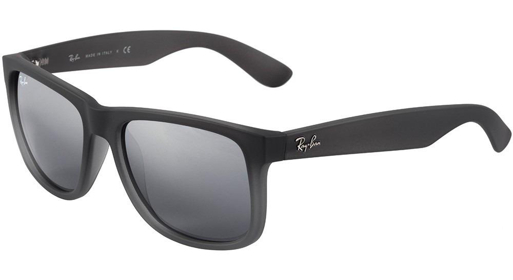 óculos masculino ray ban justin rb 4165 852 88 - original. Carregando zoom. d16c375c39