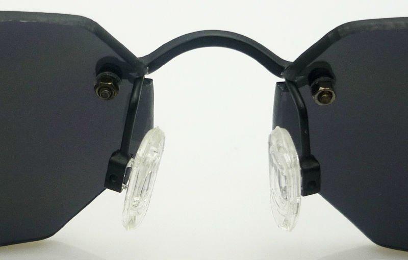 59fca46fa02fa óculos matrix modelo agent smith proteção uv 400   cor preto. Carregando  zoom.