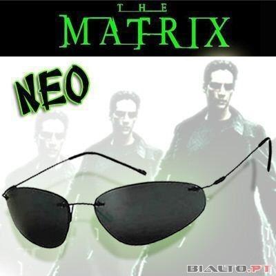 f3985667f1588 Óculos Matrix New Preto Lentes Polarizadas - Promoção - R  139