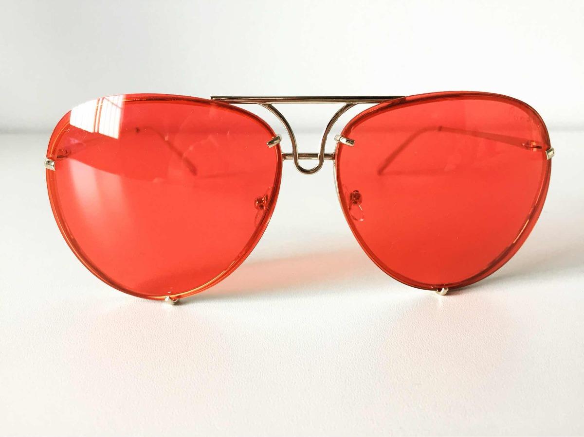 e4f85789974e5 óculos máxi aviador lente vermelha. Carregando zoom.
