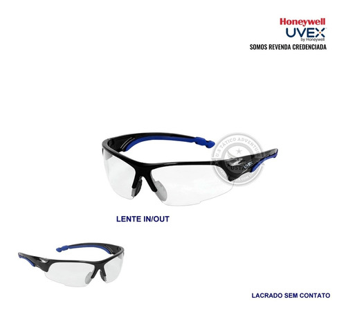 óculos máxima proteção epi antiembaçante uvex certificado