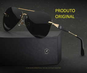 5bc1e467c Oculos Aviador Mercedes Benz Original - Óculos De Sol no Mercado ...