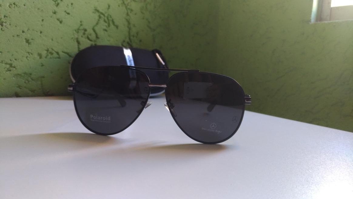 7498351ee Óculos Mercedes-benz Aviador - Polarizado E Original - R$ 229,00 em ...