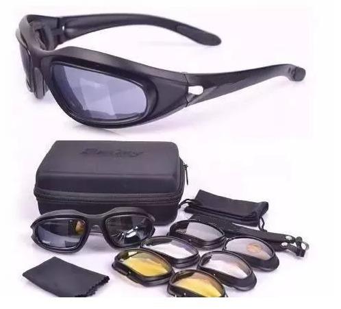 Óculos Militar Tático Tiro Prático Airsoft Uv400 - R  99,00 em Mercado Livre 7fec9b71f3