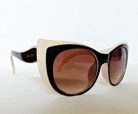 3870bd257 Oculos De Sol Prada Ns21 Gatinho Nude Marrom Cod 07 - Óculos no ...