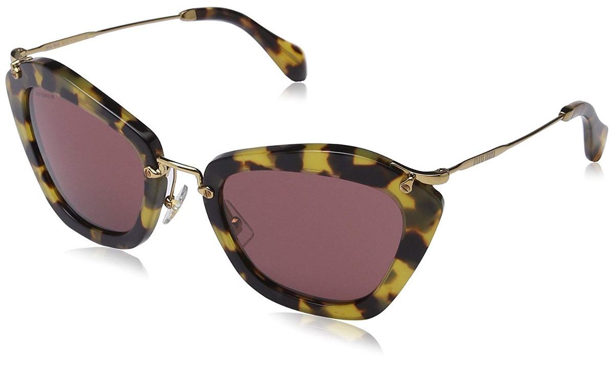 Óculos Miu Miu Mu10ns 7s00a0 Noir Sunglass - 94115 - R  1.957,48 em ... feac2fb48b
