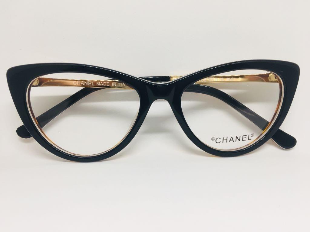3a8b2b574ae61 óculos mod chanel gatinho -p  grau acetato black friday f.gr. Carregando  zoom.