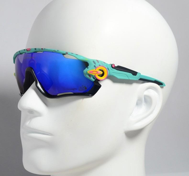 dcbf8fade2 Óculos Modelo Oakley Jawbreaker 5 Lentes Azul Piscina - R$ 149,00 em  Mercado Livre