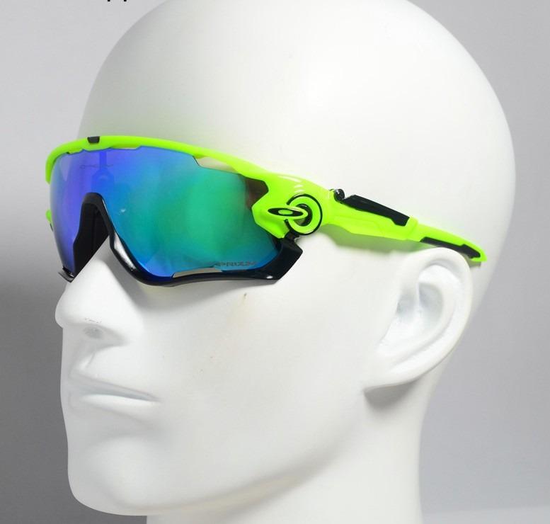 636f4199d2 Óculos Modelo Oakley Jawbreaker 5 Lentes Verde Preto - R$ 150,00 em Mercado  Livre